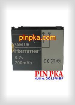 Pin điện thoại di động Samsung SAM U6