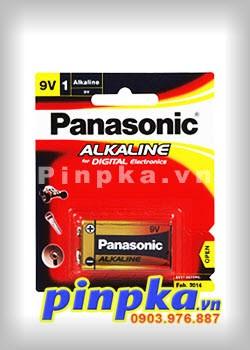 Pin 9V Panasonic Alkaline 6LR61T/1B