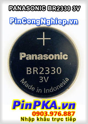 Pin Lithium PLC-CNC Panasonic BR2330 3V
