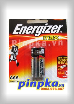 Pin đũa AAA Energizer Max Alkaline Power Seal E92/BP2 LR03