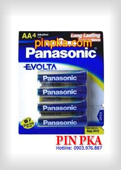 Pin Alkaline AA 1,5V Panasonic Evolta LR6EG(4B)
