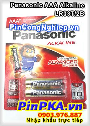 Pin Alkaline AAA 1,5V Panasonic LR03T/2B