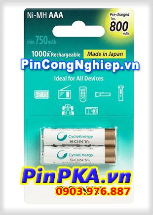 Pin sạc SONY AAA-Pin sạc thế hệ mới NH-AAA-B2KN 750mAh