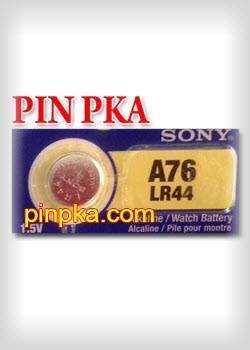 Pin Cúc Áo 1,5V Sony LR44-A76