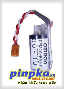 Pin Nuôi Nguồn PLC-CNC Lithium 3,6V Omron CPM2A-BAT01 1/2AA 1000mAh