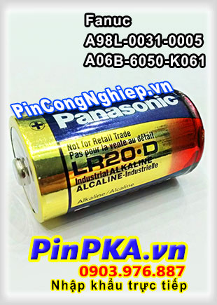Pin Nuôi Nguồn Fanuc A98L-0031-0005/ A06B-6050-K061 LR20.D LR20XWA