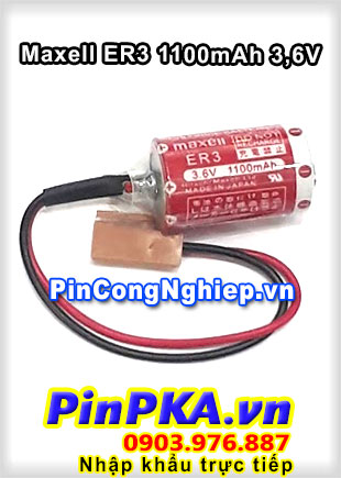 Pin Lithium Maxell ER3 1100mAh 3,6V