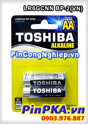 Pin tiểu AA Toshiba Alkaline LR6GCNN BP-2(VN)