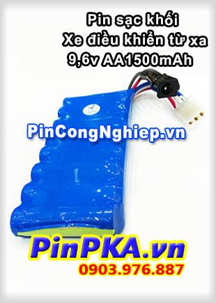 Pin sạc khối Ni-MH 9,6v AA1500mAh Xe điều khiển từ xa