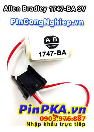 Pin Nuôi Nguồn PLC-CNC Lithium 3V Allen Bradley 1747-BA 1/2AA 1800mAh
