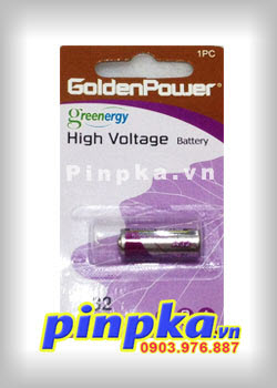 Pin Alkaline 9V GoldenPower High Voltage 32A