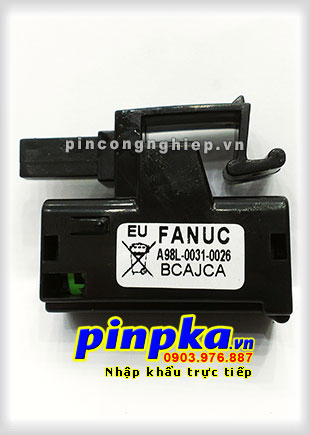 Pin GE Fanuc A98L-0031-0026/ A02B-0309-K102 1750mAh 3V
