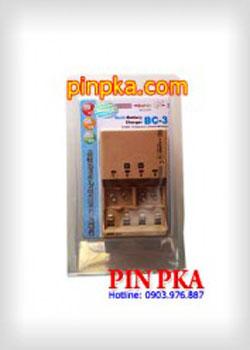 Bộ Sạc Pin 9v,AA,AAA Super BC-3
