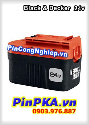 Thay Cell Pin Máy Khoan Black & Decker 24v