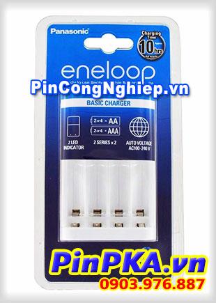 Bộ Sạc Pin Panasonic Eneloop AA,AAA BQ-CC18