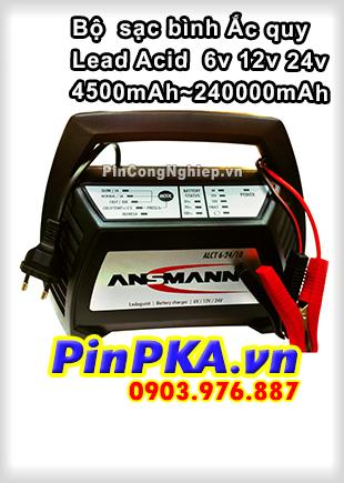 Bộ Sạc Ắc Quy Ansmann Lead Acid ALCT 6-24v/10 4500-24000mAh