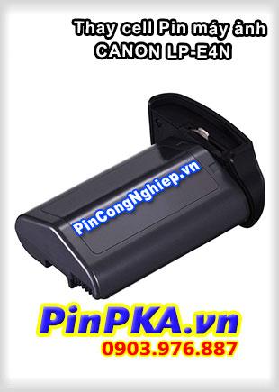 Thay cell Pin Máy Chụp Ảnh CANON LP-E4N 11,1v 2450mAh