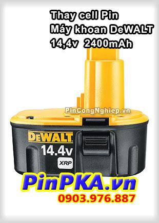 Thay Cell Pin Máy Khoan DeWalt 14,4v 2400mAh