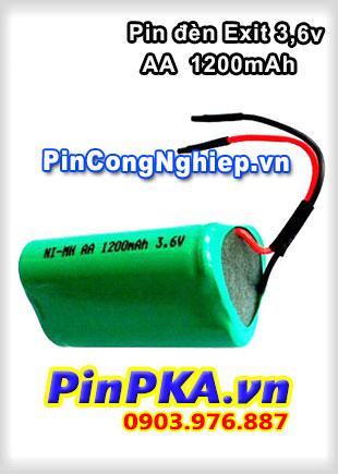 Pin Đèn Exit 3,6V AA 1200mAh