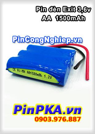 Pin Đèn Exit 3,6V AA 1500mAh-135-140-148