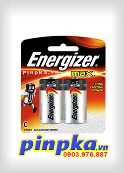 Pin trung C 1,5V Energizer Max Alkaline E93 BP-2