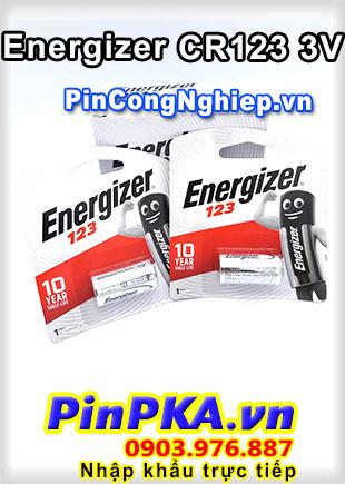 Pin Máy Ảnh Lithium 3V Energizer CR123