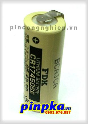 Pin Nuôi Nguồn PLC-CNC Lithium 3v FDK CR17450SE A 2500mAh