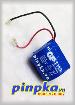 Pin sạc Khối GP-T113 3,6V 280mAh Rechargeable Ni-Cd Battery