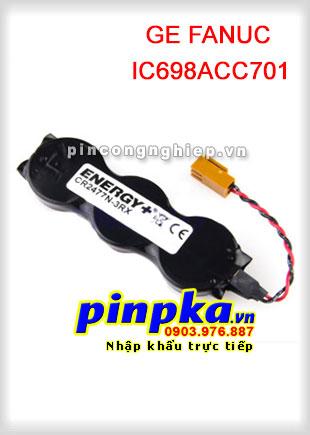 Pin Nuôi Nguồn PLC-CNC Lithium 3v GE FANUC IC698ACC701 CR2477N-3RX 3000mAh