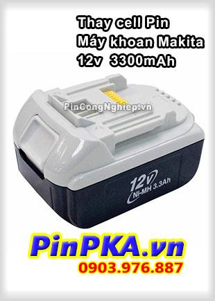 Thay Cell Pin Máy Khoan Makita 12v 3300mAh