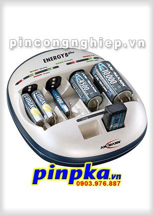 Bộ Sạc Pin Thông Minh Ansmann Energy 8 Plus
