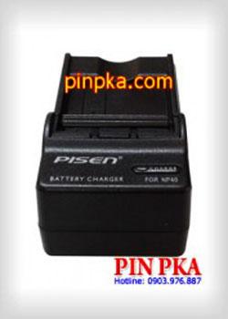 Bộ sạc pin máy ảnh Pisen NB-4L