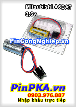 Pin Lithium Mitsubishi ER17330V 2000mAh 3,6V
