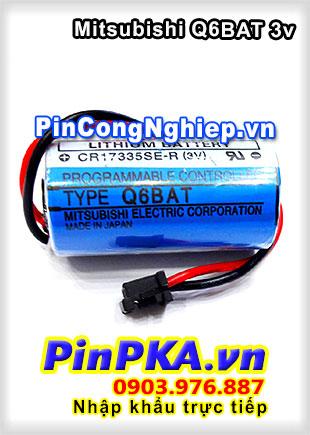 Pin Lithium Mitsubishi CR17335SE-R Q6BAT 1800mAh 3V