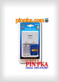 Bộ Sạc Pin Sanyo Eneloop NCMQN04ENSSP20A
