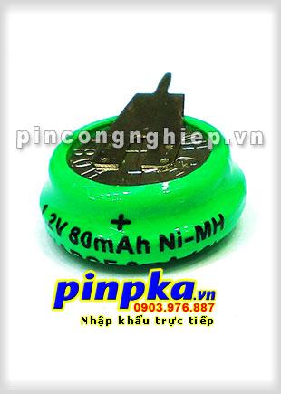 Pin Sạc Công Nghiệp Ni-MH 1,2vol 80mAh 80H1A