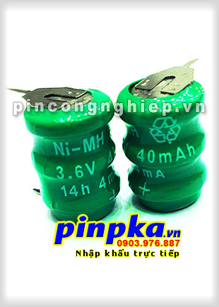 Pin Cell 3,6v Ni-MH 40H3A 40mAh