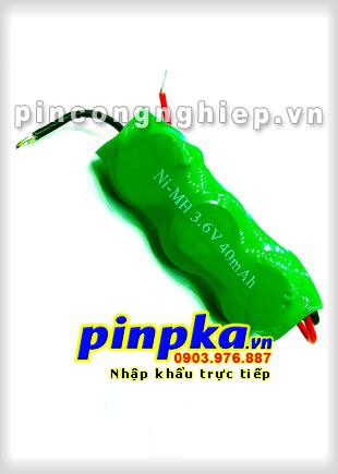 Pin 3,6v Ni-MH 40H3A 40mAh