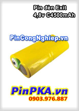 Pin Đèn Exit 4,8V C4500mAh Ni-MH