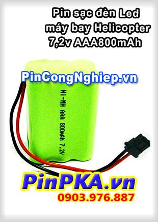 Pin sạc khối Ni-MH 7,2v AAA800mAh-265-278-298 Máy bay Helicopter