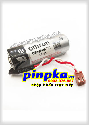 Pin Omron CS1W-BAT01 3,6V Lithium Battery