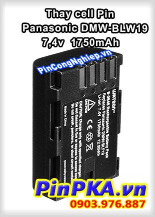 Thay cell Pin Máy Chụp Ảnh PANASONIC DMW-BLF19 Li-ion 7,4v 1750mAH