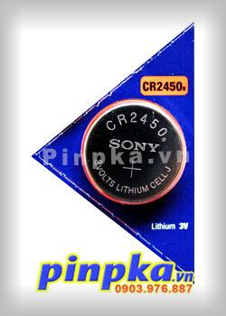 Pin đồng tiền 3v Sony Lithium CR2450