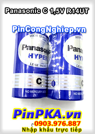 Pin trung C 1,5v Panasonic Hyper Battery R14UT