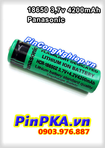 Pin Panasonic 18650 3.7v 4200mAh
