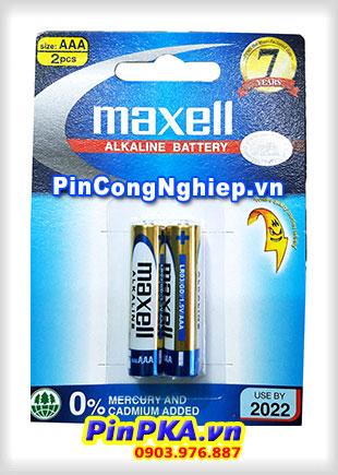 Pin Alkaline AAA 1,5V Maxell LR03(GD)2B