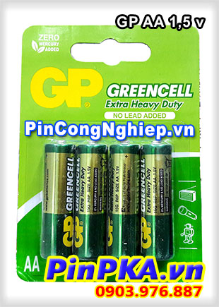 Pin Alkaline 1,5v GP AA GreenCell