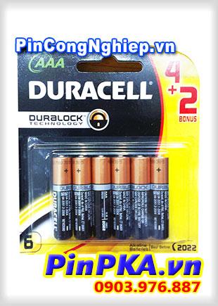 Pin Alkaline AAA 1,5V Duracell MN2400 - LR03 (vỉ 6)
