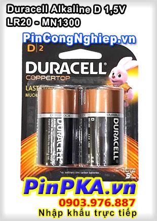 Pin Đại 1,5v Alkaline D Duracell LR20 MN1300 (vỉ 2)