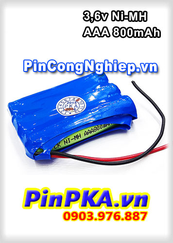 Pin Đèn Exit 3,6V AAA 800mAh Ni-MH